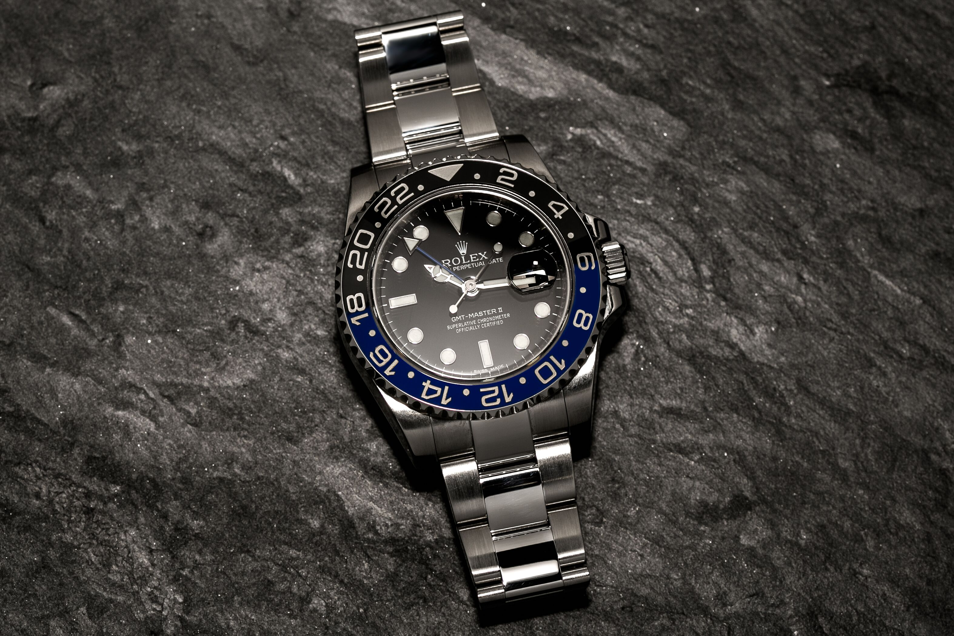 "Rolex Batman GMT Master 2 (116710BLNR): The ""Dark Knight"" Returns… For the First Time"