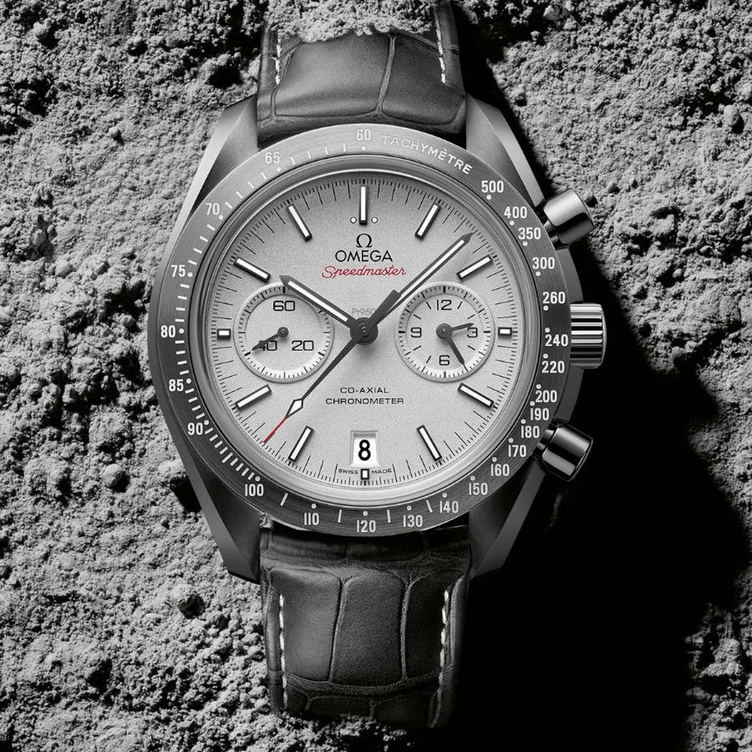Omega Moon Watch – The Speedmaster Grey Side of The Moon