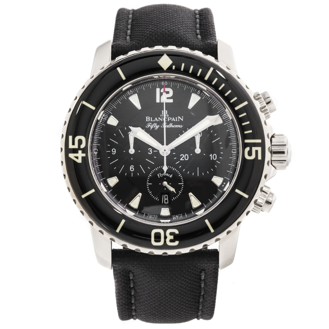 Blancpain Fifty Fathoms Flyback Chronograph: The Cadillac of Divers