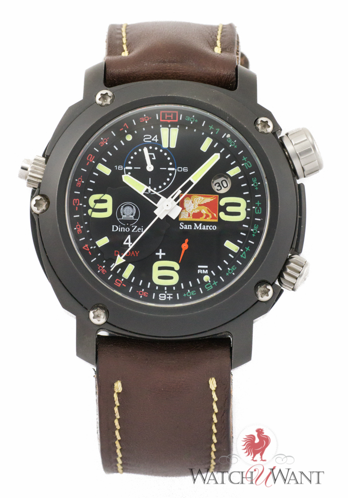 Anonimo Dino Zei San Marco Landing Forces D-Day Countdown: Military History For The Wrist