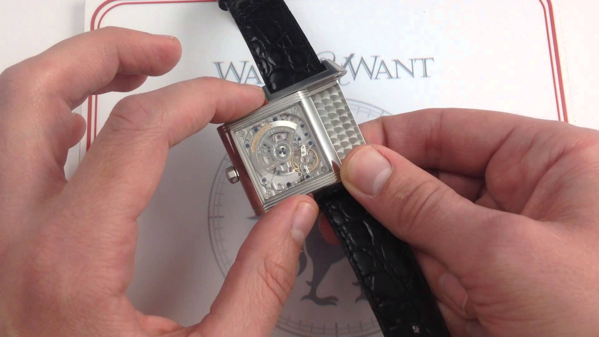 Jaeger-LeCoultre Reverso Squadra Hometime: At Home, In Action…