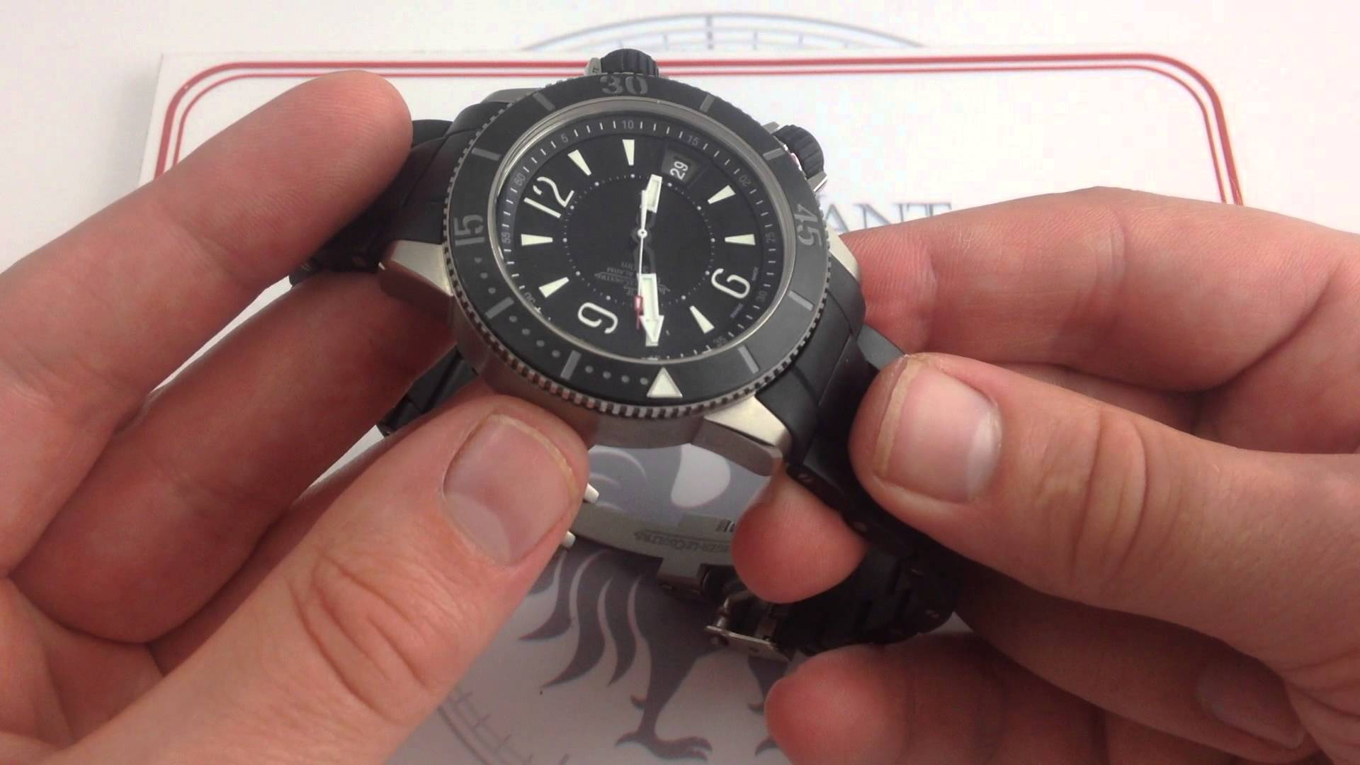 Jaeger-LeCoultre Master Compressor Diving Alarm Navy SEALS: Special Forces, Special Edition…
