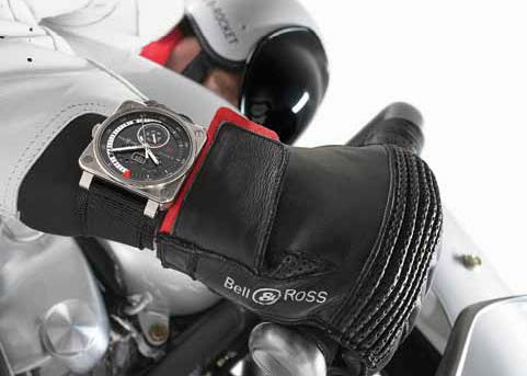 Fast Lane: It's a Motorcycle. It's a Plane. It's the Bell & Ross B-Rocket!