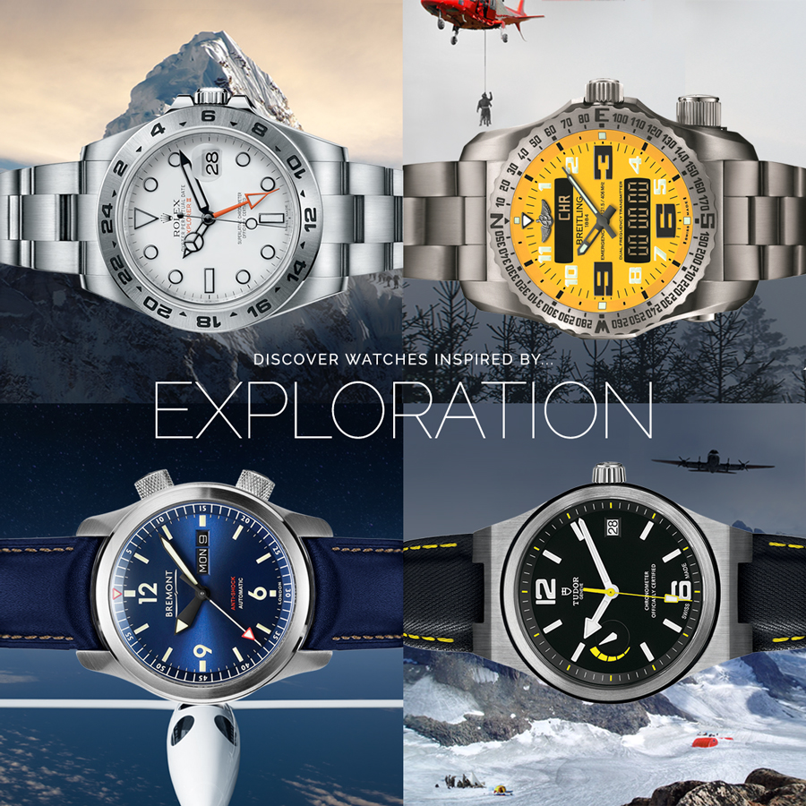 Inspired Somewhere: Watches and Exploration