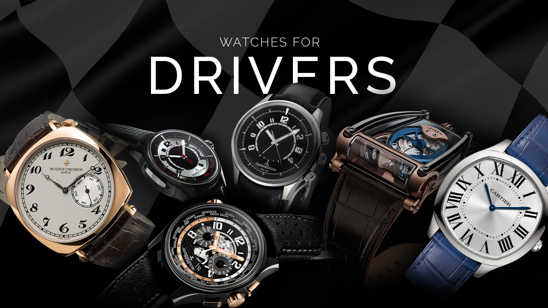Motorsport series — Watches For Drivers