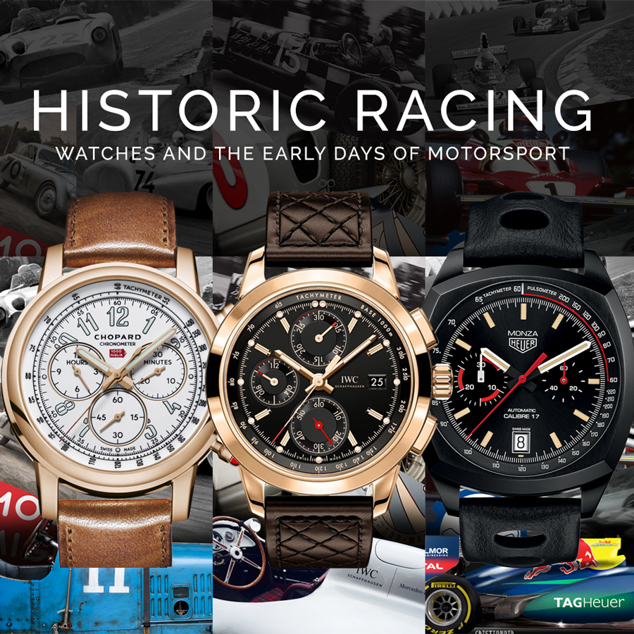 Watches and Historic Racing
