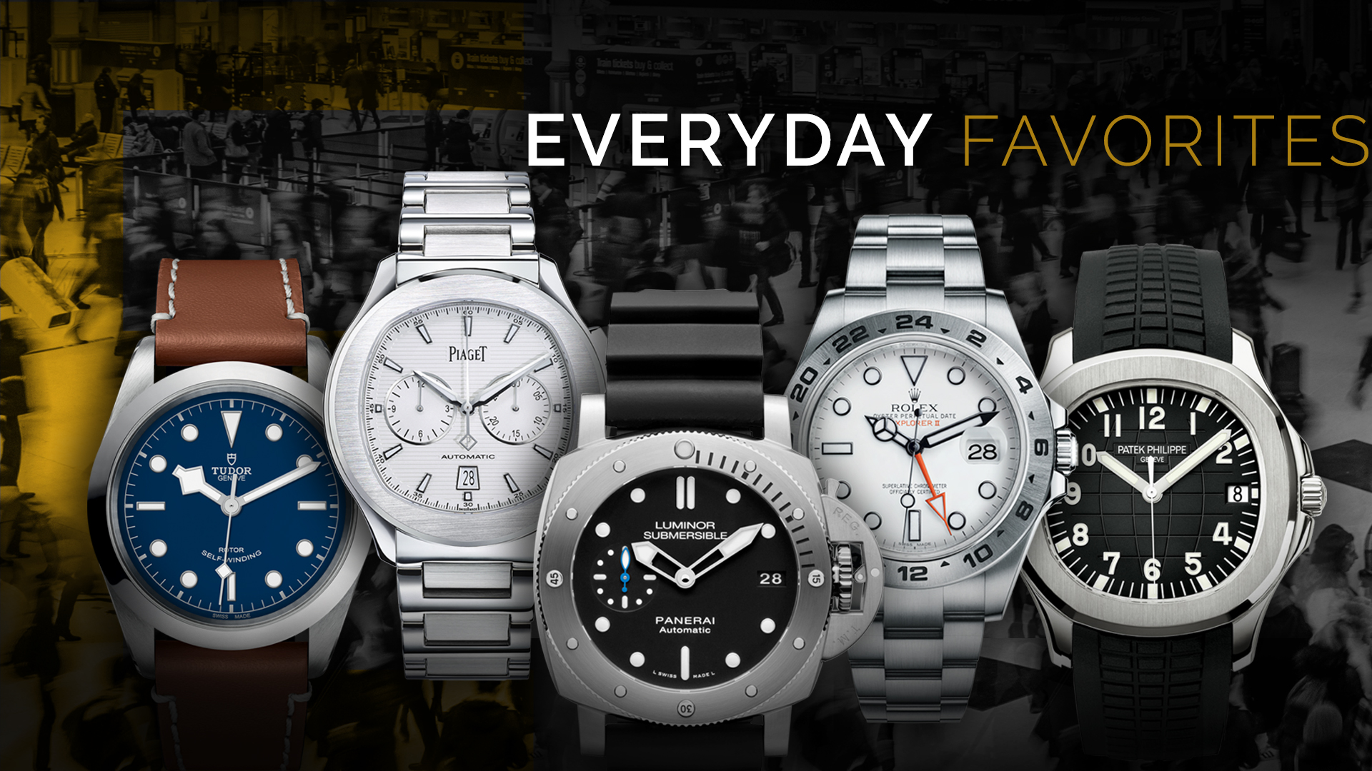 Every Day Favorite Steel Watches