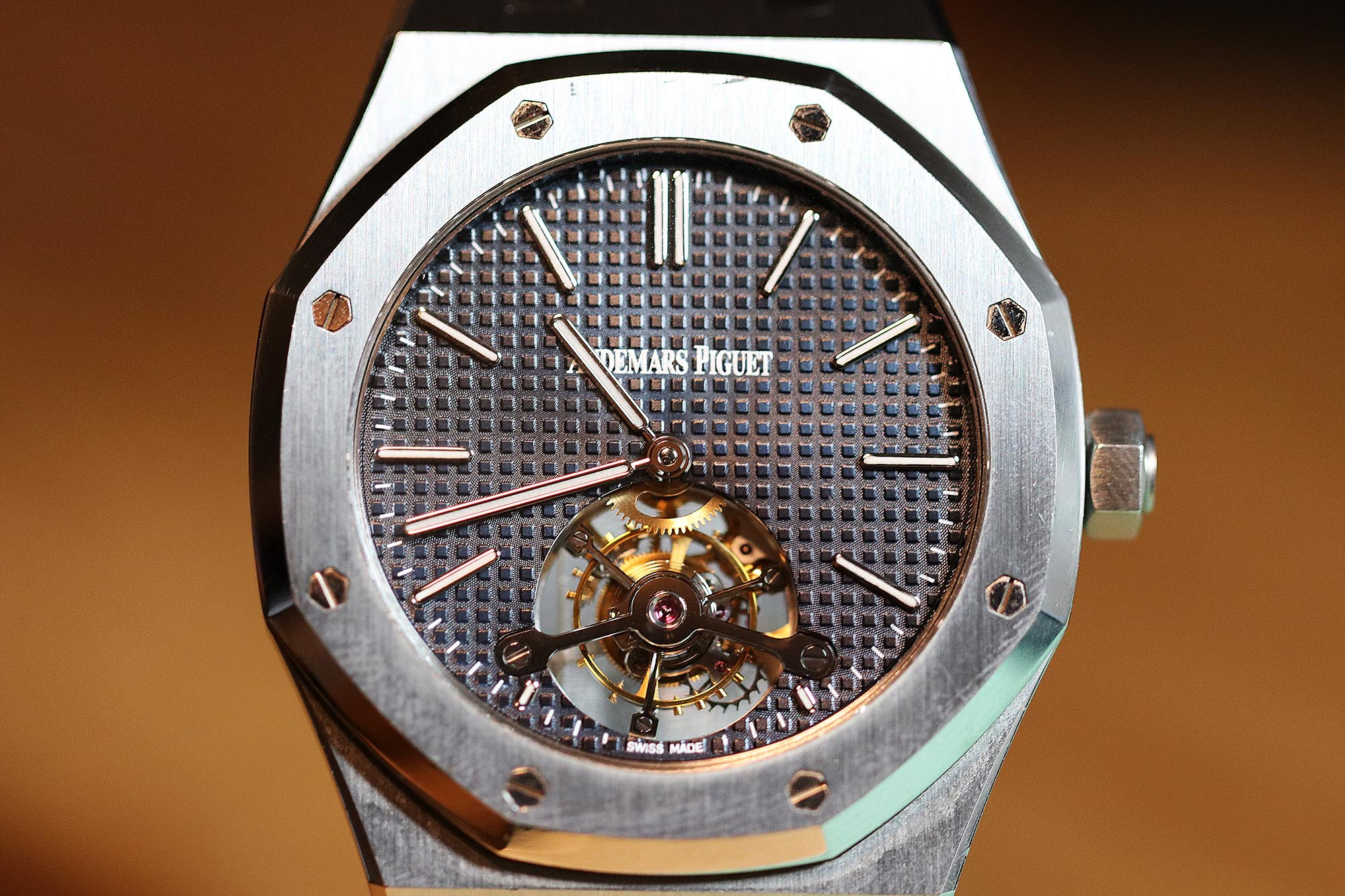 On The Wrist: Audemars Piguet Royal Oak Tourbillon Extra-Thin