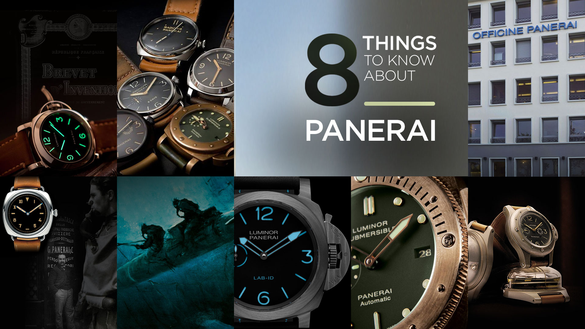 8 Things to Know About Panerai