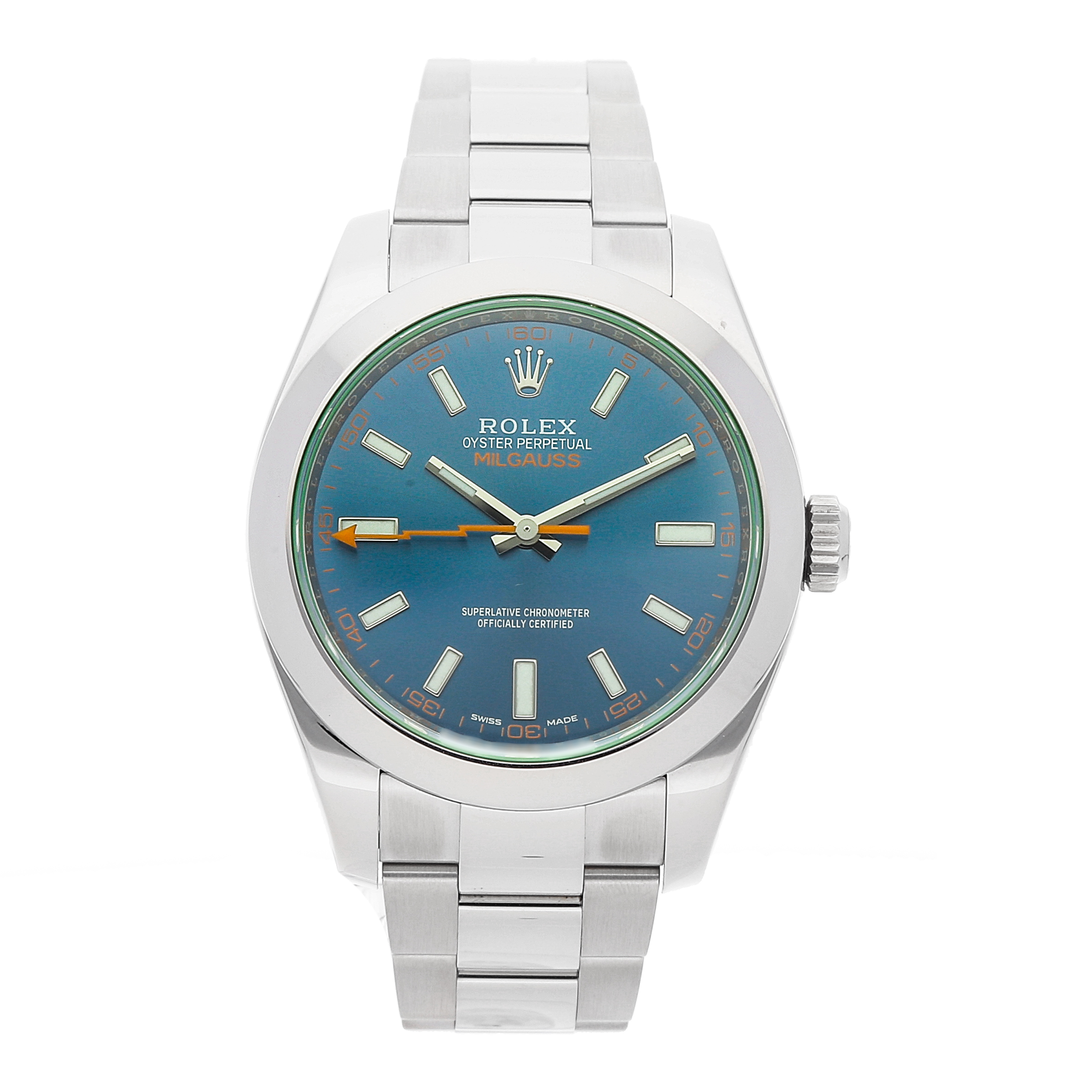Rolex Milgauss Blue: The Counter-Culture Chronometer