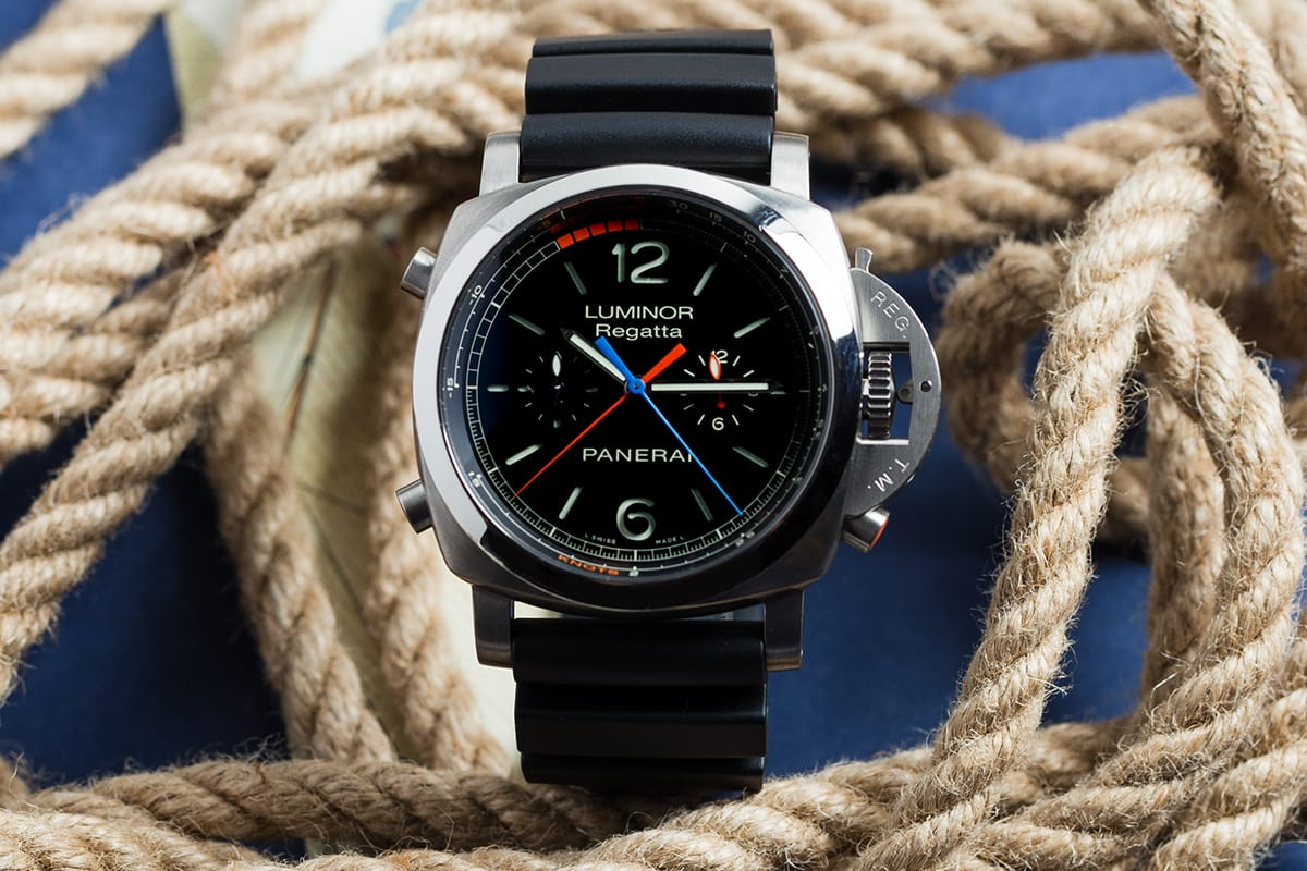 Boating Watch Panerai Luminor Flyback
