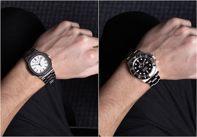 40mm Nautilus vs 40m Sea-Dweller